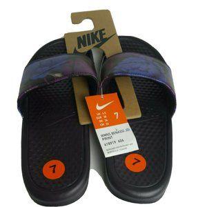 Nike New Benassi JDI Slides Berry Burgundy Comfort
